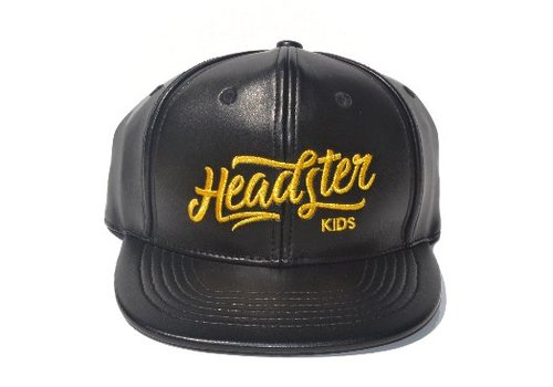 Headster Kids *DERNIÈRE CHANCE!* CASQUETTE - LEATHER / Enfant