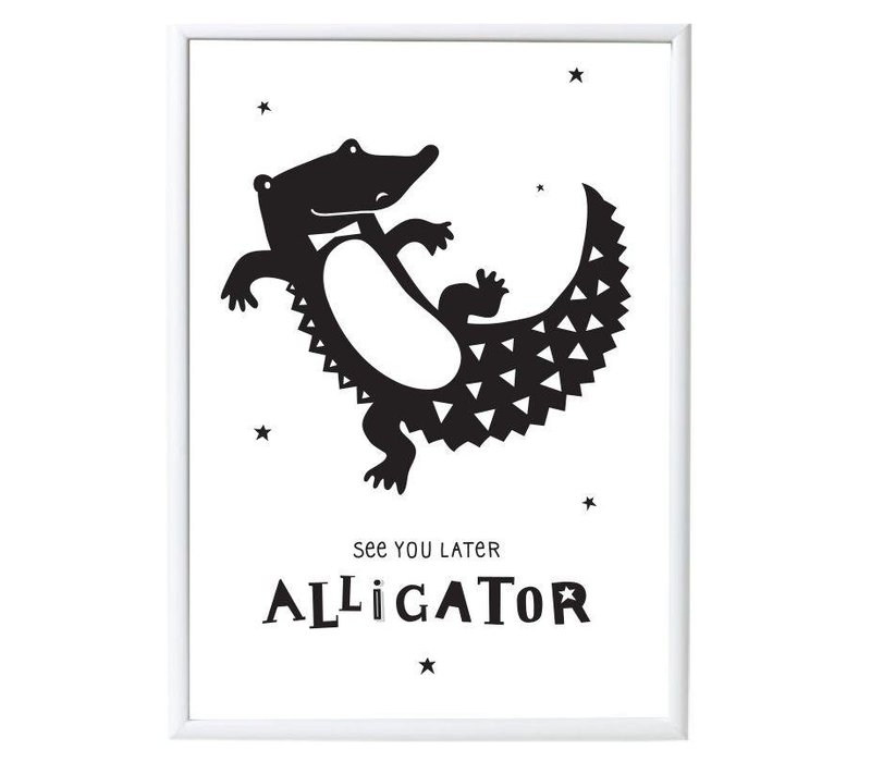 AFFICHE - ALLIGATOR