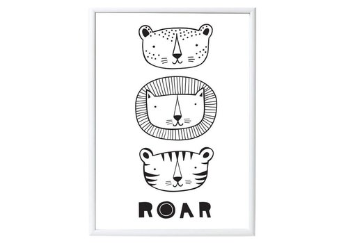A Little Lovely Company AFFICHE - ROAR