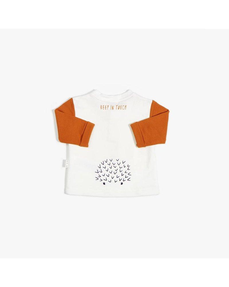 Miles Baby Brand CHANDAIL HÉRISSON - CITROUILLE/CRÈME