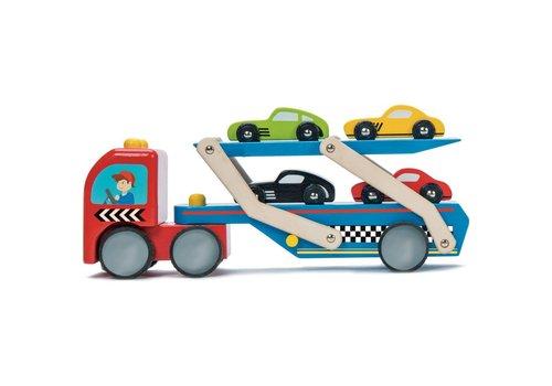 Le Toy Van CAMION DE TRANSPORT POUR VOITURES