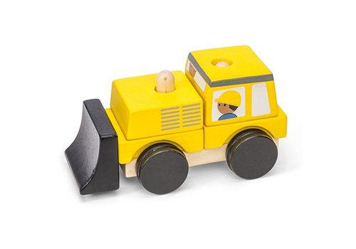 Le Toy Van BULLDOZER EMPILABLE