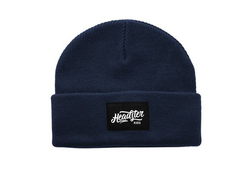 Headster Kids TUQUE LIL HIPSTER - INDIGO