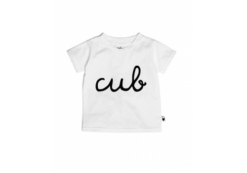 Tobias & the Bear T-SHIRT CUB - BLANC