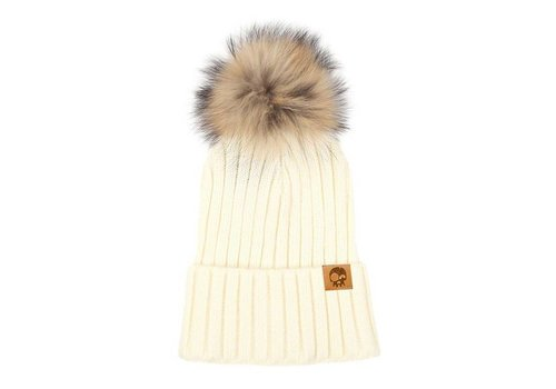 Headster Kids TUQUE MLLE CLASSY - CRÈME
