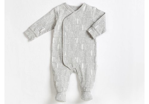 FIRSTS by Petit Lem PYJAMA ONCE UPON A TIME - GRIS