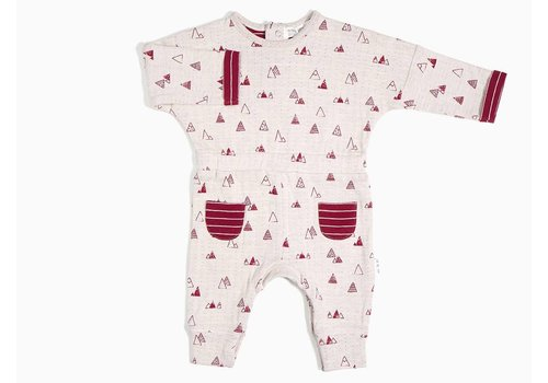 Miles Baby Brand BARBOTEUSE MONTAGNES - BOURGOGNE