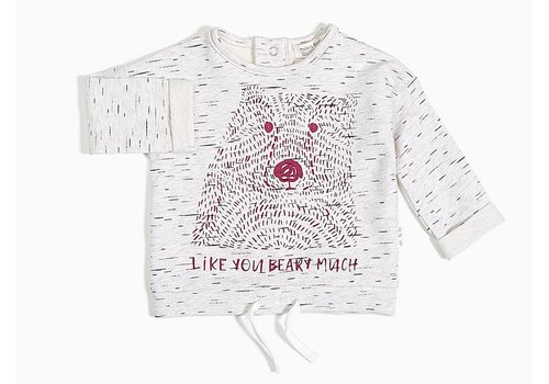 Miles Baby Brand CHANDAIL BEARY MUCH - BOURGOGNE