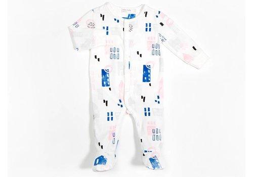 Miles Baby Brand PYJAMA MAISONS - ROSE