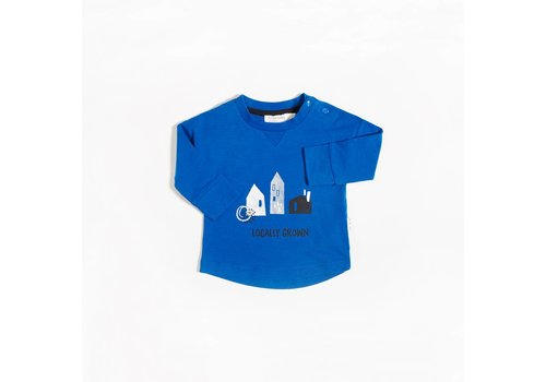Miles Baby Brand CHANDAIL LOCALLY GROWN - BLEU