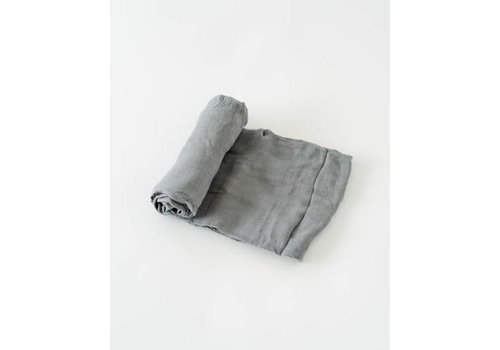 Little Unicorn MOUSSELINE BAMBOU - CHARCOAL