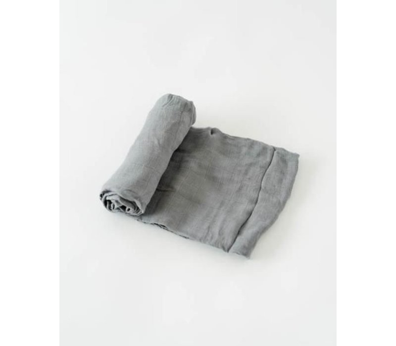 MOUSSELINE BAMBOU - CHARCOAL