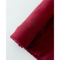 MOUSSELINE BAMBOU - POMEGRANATE