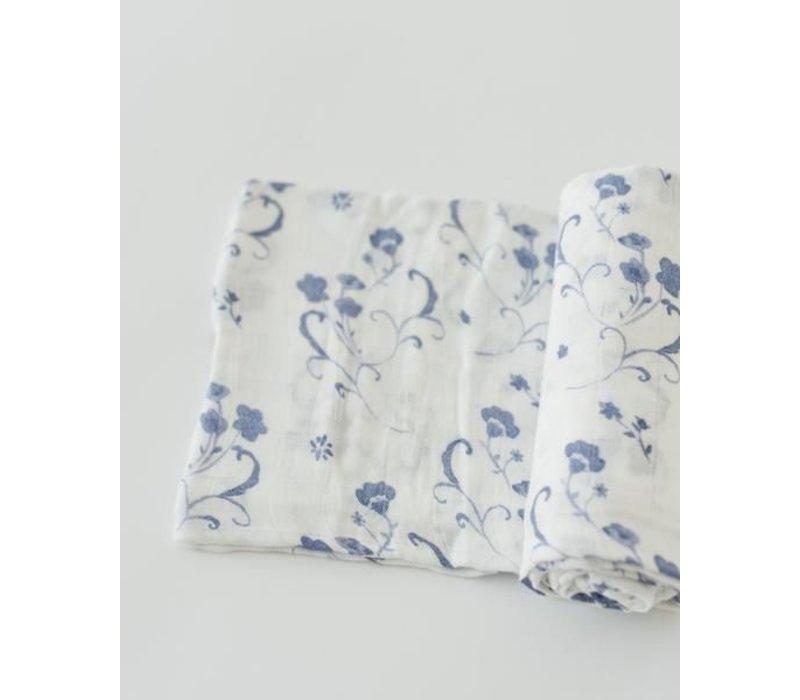 MOUSSELINE BAMBOU - BLUE PORCELAIN