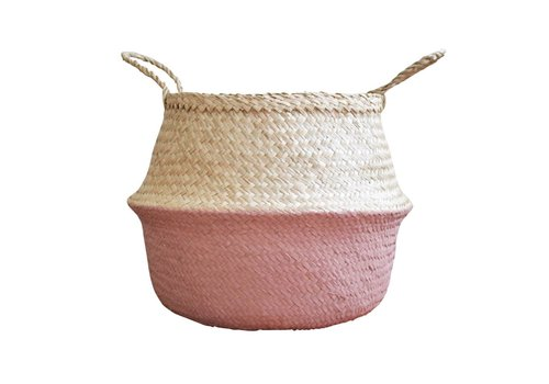 Dutch Warehouse PANIER MEDIUM - ROSE ANTIQUE