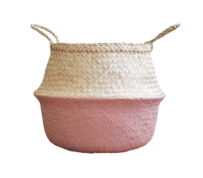 PANIER MEDIUM - ROSE ANTIQUE