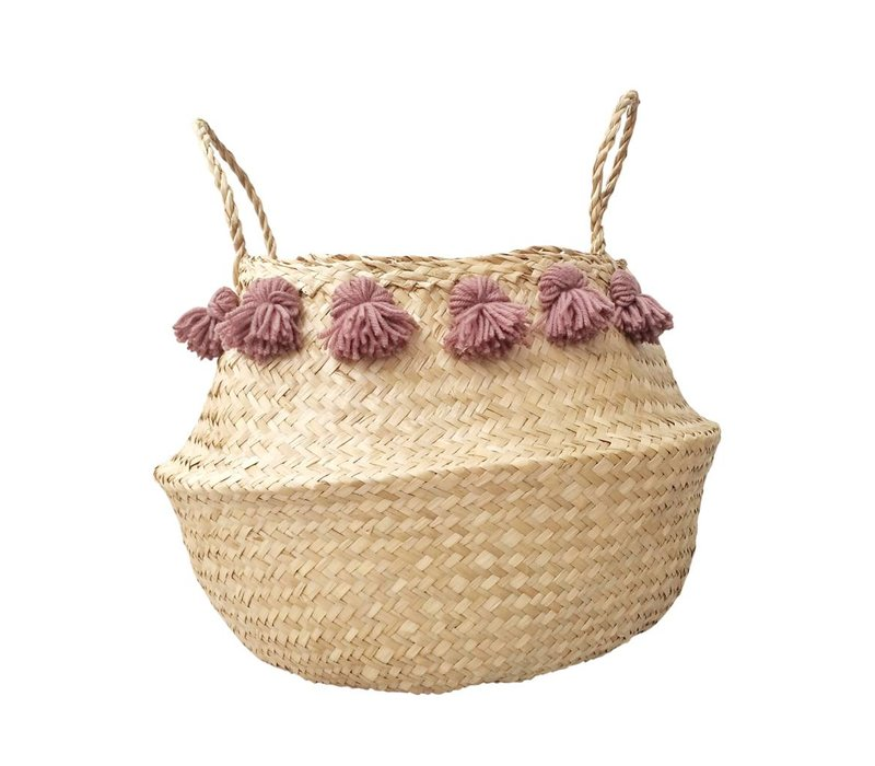 PANIER MEDIUM BOHO - MAUVE ANTIQUE