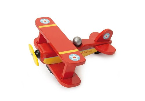 "Le Toy Van AVION BIPLANE ""REQUIN"""