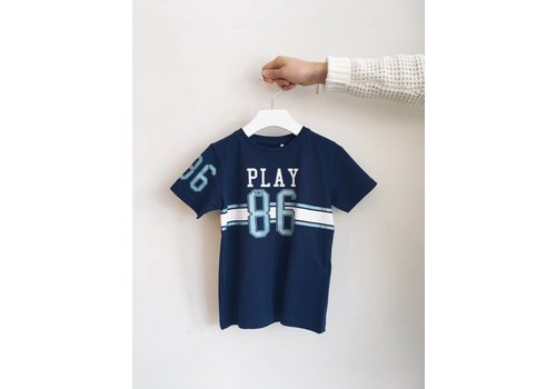 NAME IT T-SHIRT PLAY BLUES - BLEU