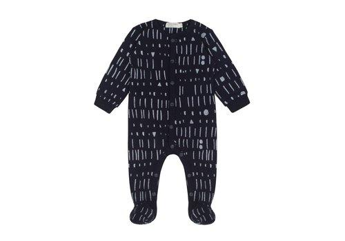Miles Baby Brand PYJAMA MILES AND MILES - MARINE