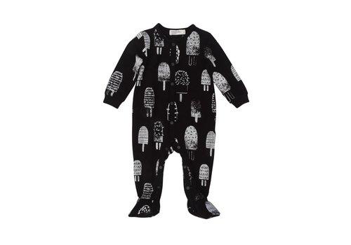 Miles Baby Brand PYJAMA POPSICLES - NOIR/BLANC