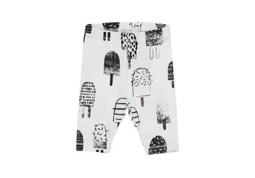 Miles Baby Brand LEGGING POPSICLES - BLANC/NOIR