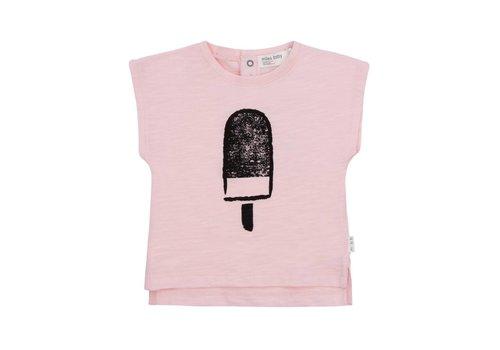 Miles Baby Brand *DERNIÈRE CHANCE!* T-SHIRT POPSICLES - ROSE / 3 mois