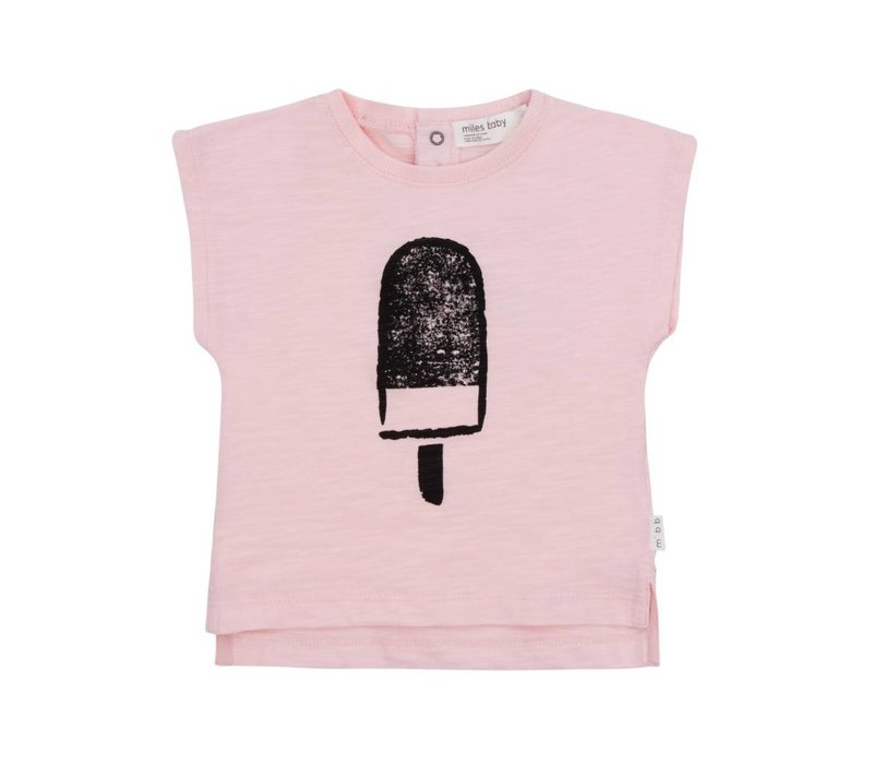 T-SHIRT POPSICLES - ROSE