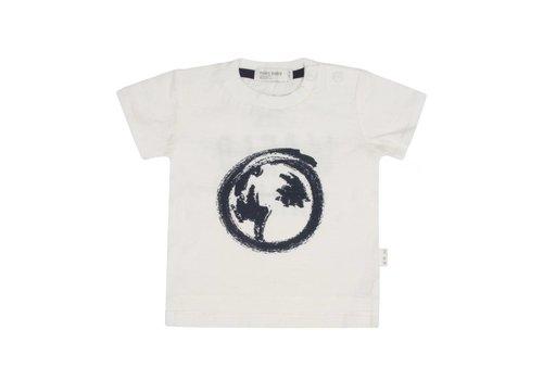 Miles Baby Brand T-SHIRT TERRE - CRÈME/MARINE