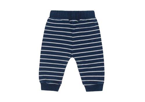 Miles Baby Brand PANTALON LIGNÉ - BLEU JEANS