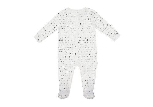 FIRSTS by Petit Lem PYJAMA GOUTTES - GRIS