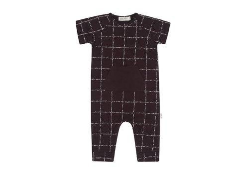 Miles Baby Brand COMBISHORT WINDOWPANE - CHARCOAL