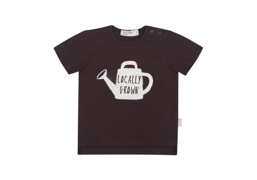 Miles Baby Brand T-SHIRT LOCALLY GROWN - CHARCOAL