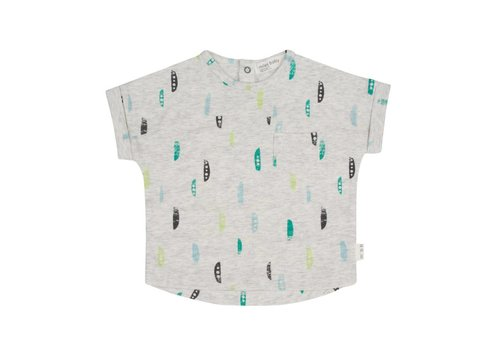 Miles Baby Brand T-SHIRT SNOW PEA - GRIS