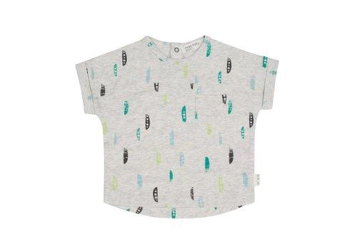 Miles Baby Brand T-SHIRT SNOW PEA - GRIS