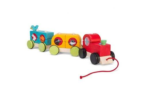 Le Toy Van TRAIN EMPILABLE DE LA FORÊT
