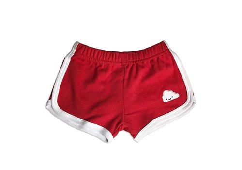 Whistle & Flute SHORTS DE COURSE NUAGE - ROUGE