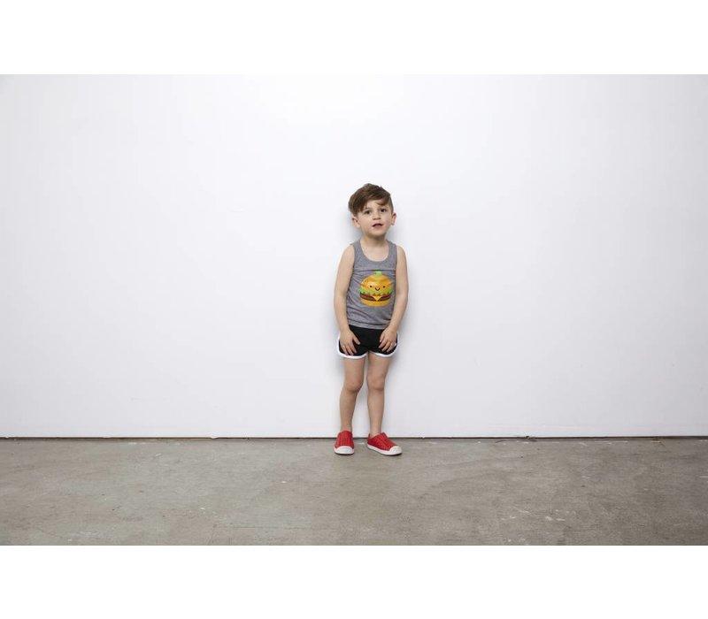 *DERNIÈRE CHANCE!* CAMISOLE KAWAII BURGER / 3-4 ans