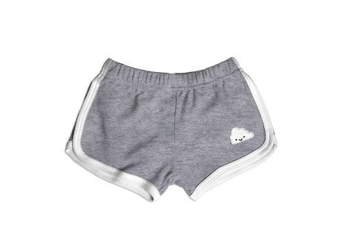 Whistle & Flute SHORTS DE COURSE NUAGE - GRIS