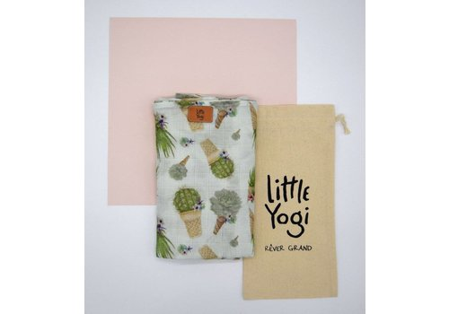 Little Yogi MOUSSELINE EN BAMBOU - LITTLE CACTUS CONE