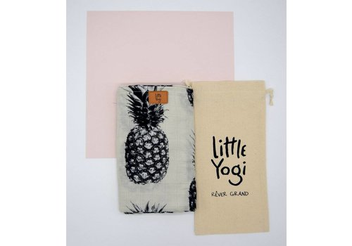 Little Yogi MOUSSELINE EN BAMBOU - LITTLE PINEAPPLE
