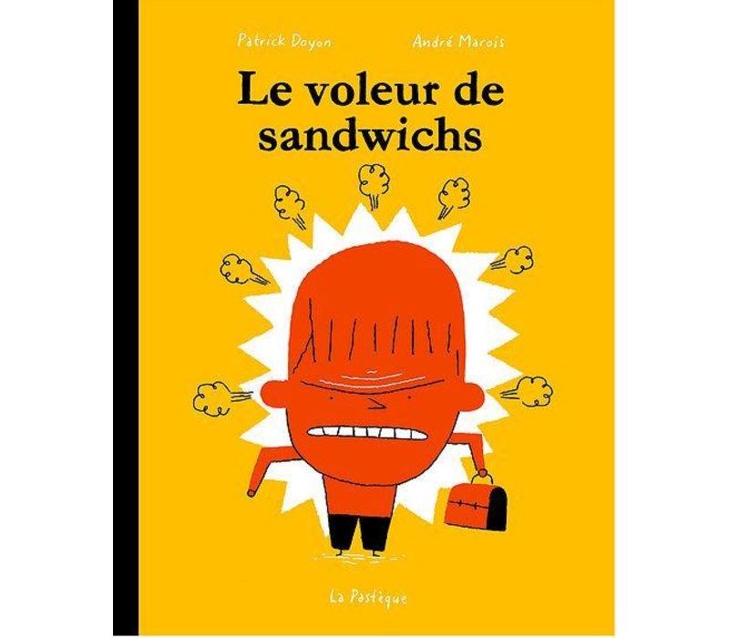 LIVRE - LE VOLEUR DE SANDWICHS/ ANDRÉ MAROIS