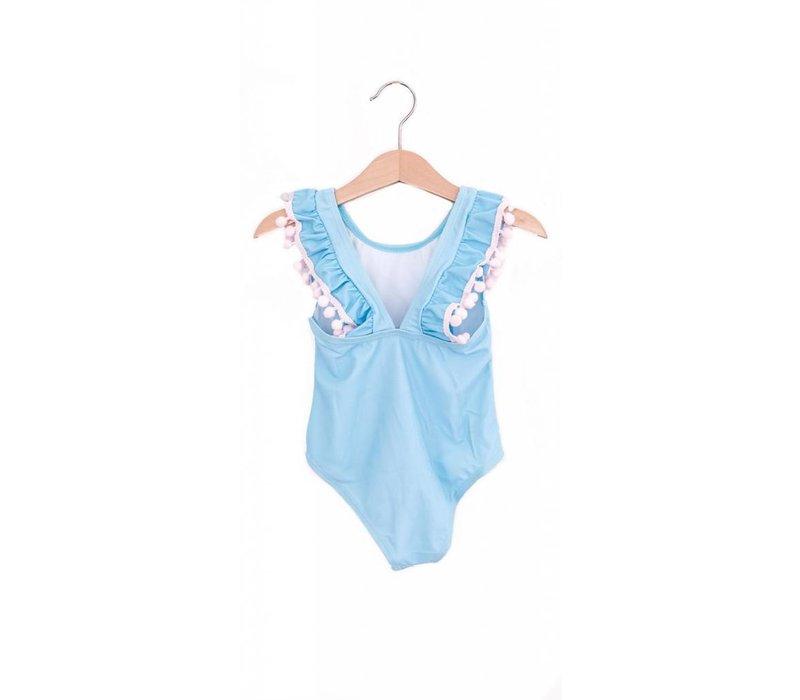 MAILLOT DE BAIN - BABY BLUE