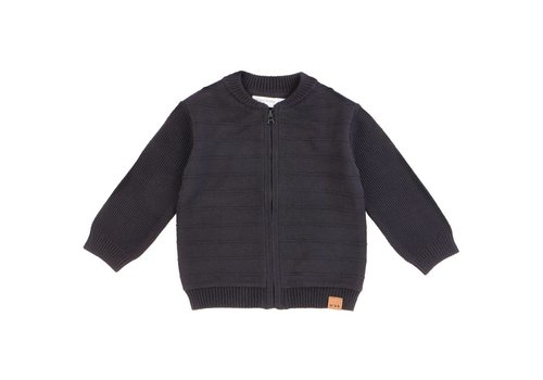 Miles Baby Brand VESTE EN TRICOT - NOIR