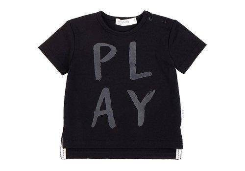 Miles Baby Brand T-SHIRT PLAY LOUD - NOIR