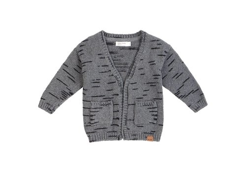 Miles Baby Brand VESTE TRICOT PLAY - GRIS
