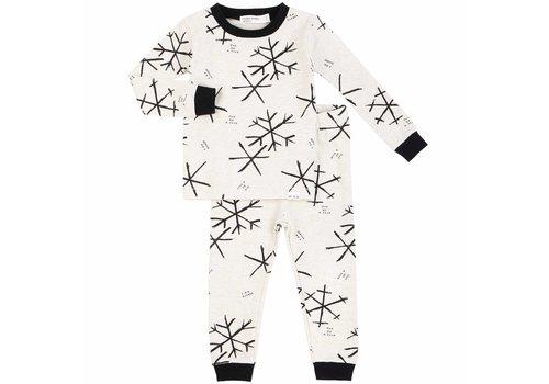 Miles Baby Brand PYJAMA 2 PIÈCES ONE OF A KIND - BEIGE