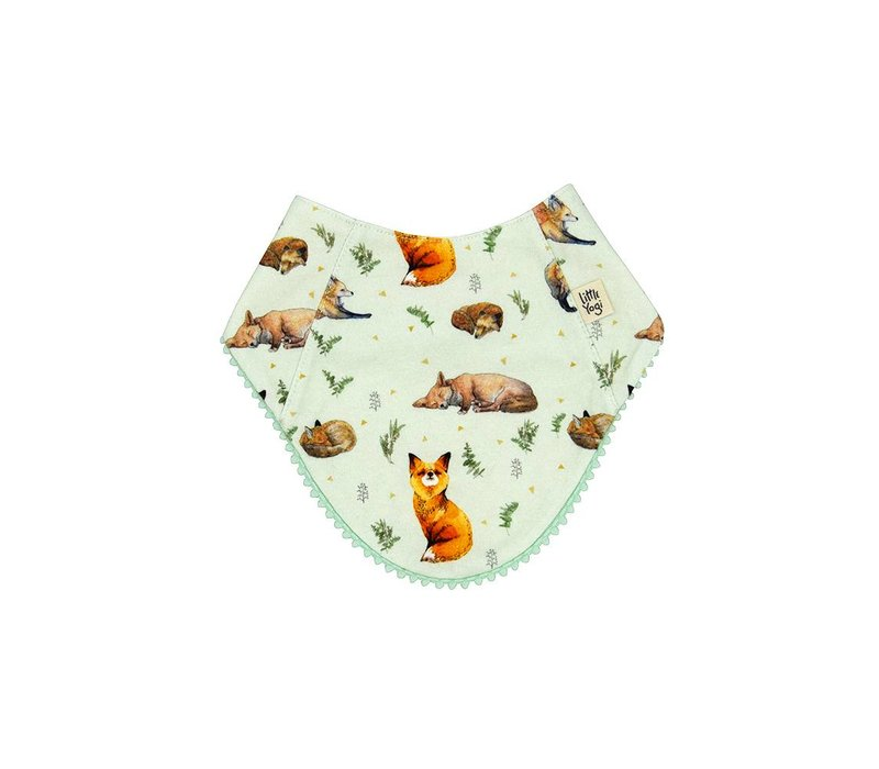 BAVOIR RÉVERSIBLE - LITTLE FOX