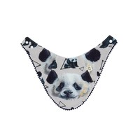 BAVOIR RÉVERSIBLE - LITTLE PANDA