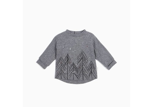 Miles Baby Brand CHANDAIL SAPINS - GRIS
